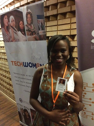 Nomso Faith Kana, TechWomen Eight of Clubs, South Africa