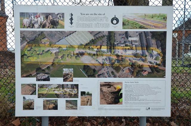 Roman Circus of Camulodunum, Colchester (UK)