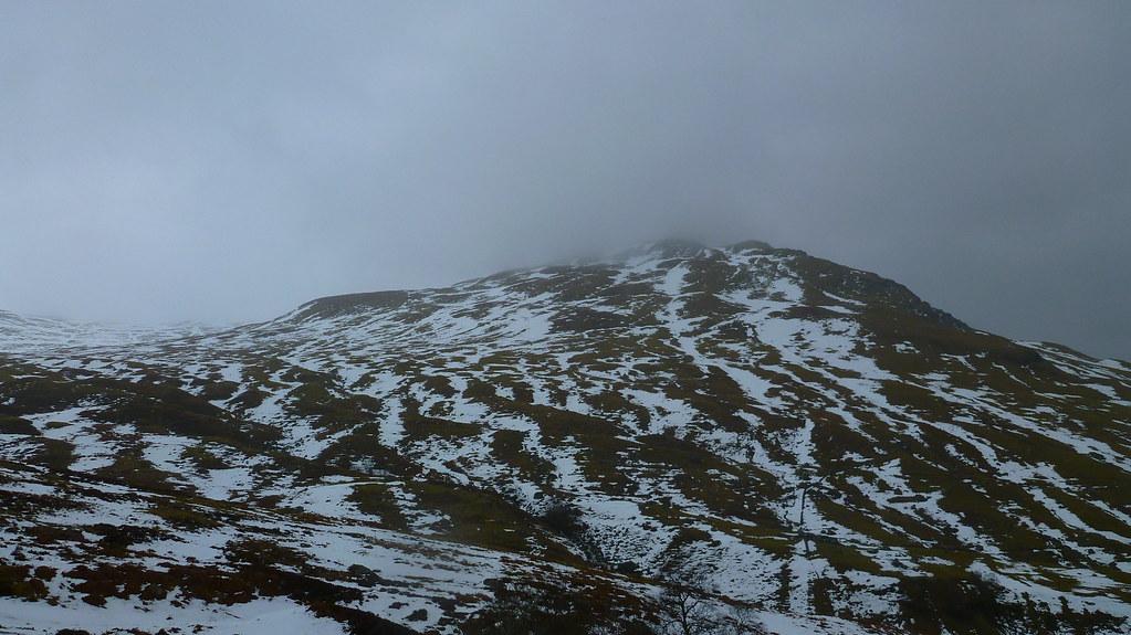 Meall Ghaordaidh. skiing, ski touring, ski mountaineering, glen lochay, duncroisk