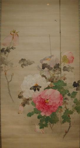 牡丹に蝶図1