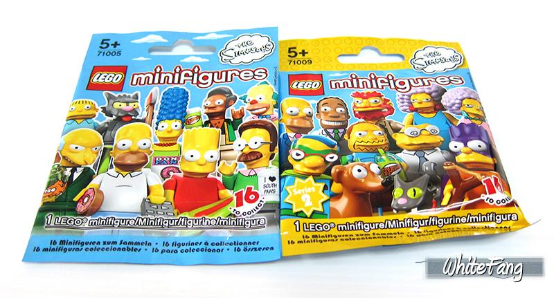 Famiglia Simpsons Lego Minifigures Serie The Simpsons 2 Family 71009