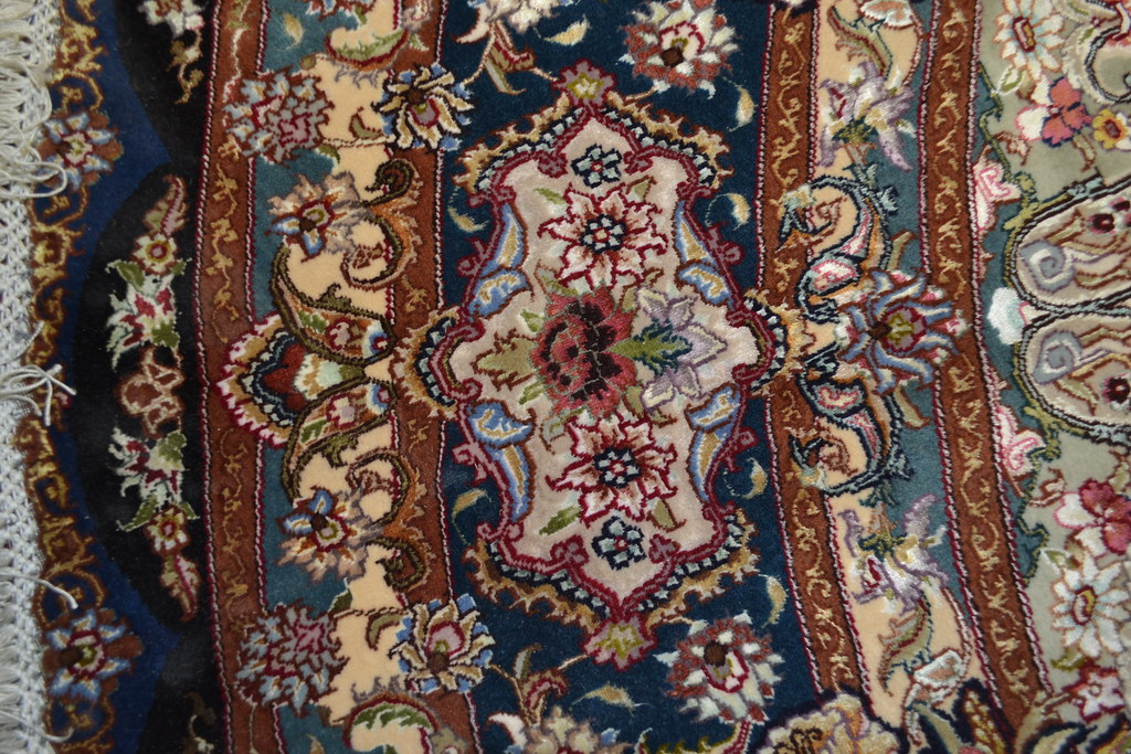 Salari Master Piece 7x7 Persian Area Rug Very detailed Tabriz Rug (7)