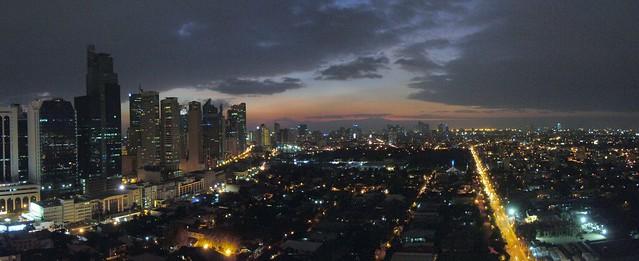 Makati Sunset Panorama