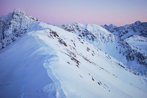Tatra Mountains - A view from Kasprowy Wierch to Świnica