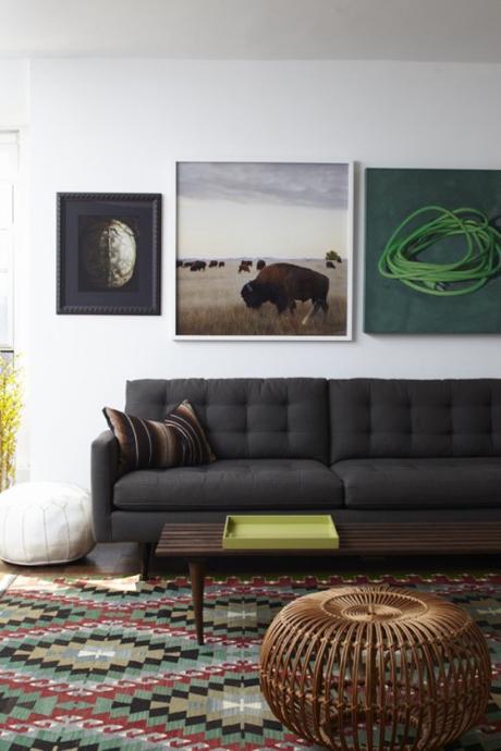 Truyền thống và hiện đại với thổ cẩm trong trang trí nội thất