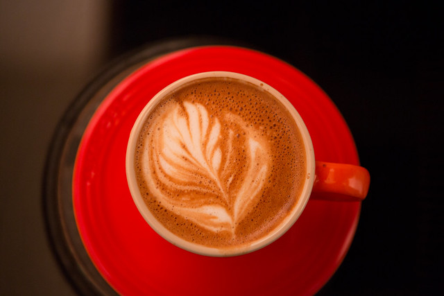 Latte Art Progress from Flickr via Wylio