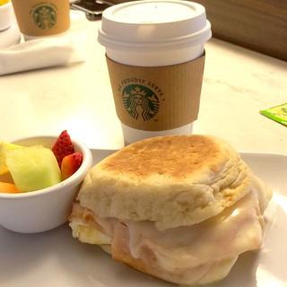 Courtyard breakfast sandwich