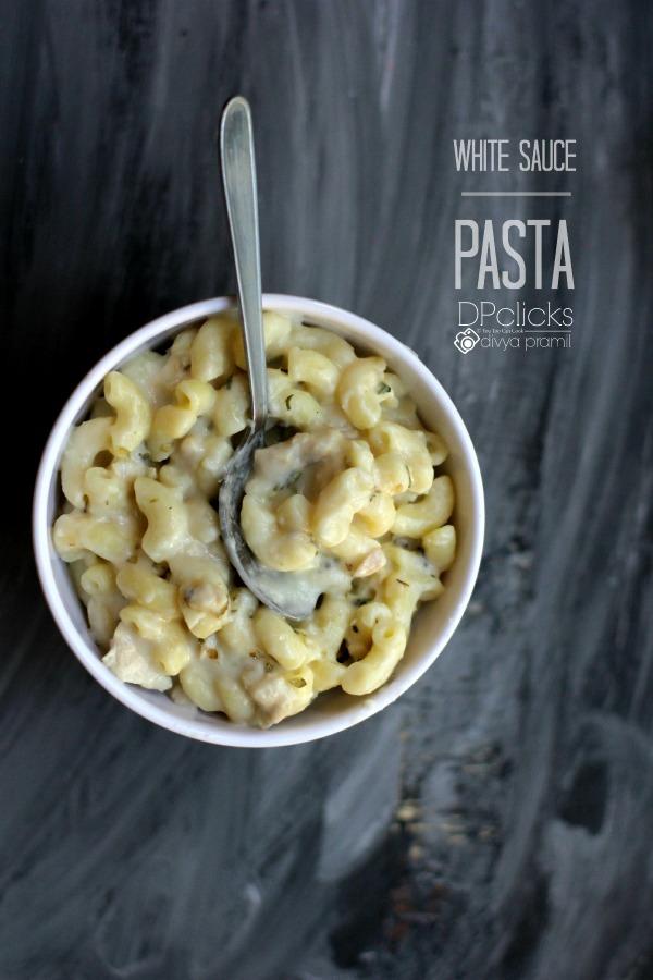 Pasta In White Sauce Recipe   White Sauce Pasta   Creamy ...