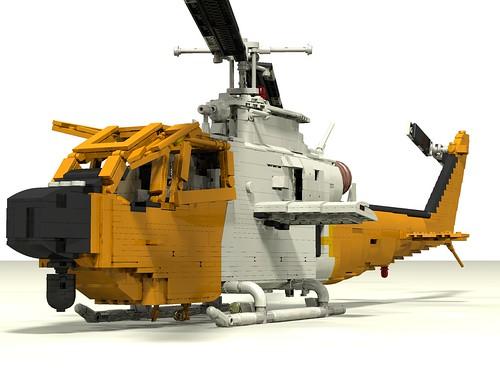 Bell 209 Firewatch Cobra front left