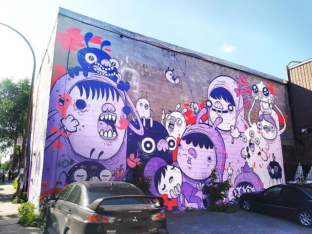 Astro - Mural Festival, Montreal