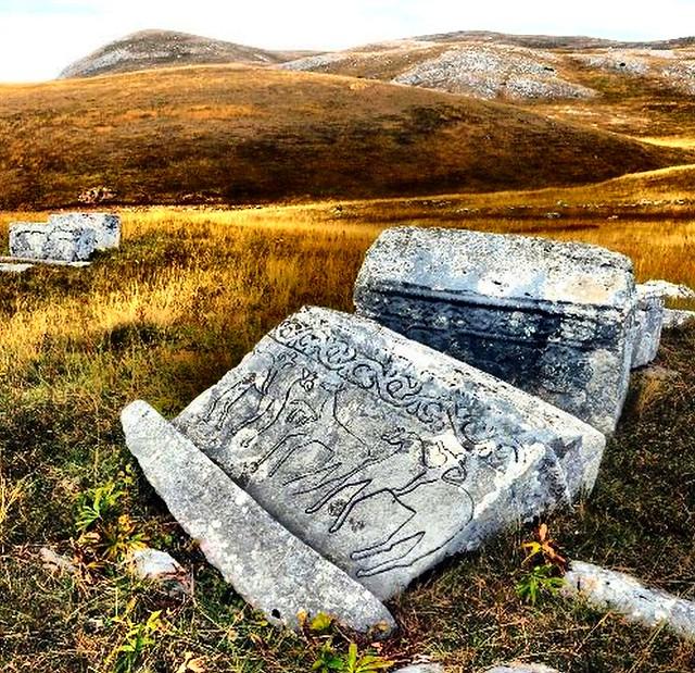 Historijsko područje-Nekropola sa stećcima na lokalitetu Mramor (Crkvina) u Vrbici kod Foče, koje je inače državni nacionalni spomenik.