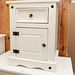 Corona white 1 drawer 1 door locker
