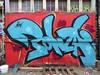 Bonzai graffiti, Shoreditch