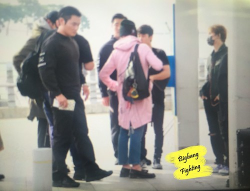 Big Bang - Incheon Airport - 24sep2015 - BigbangFighting - 01