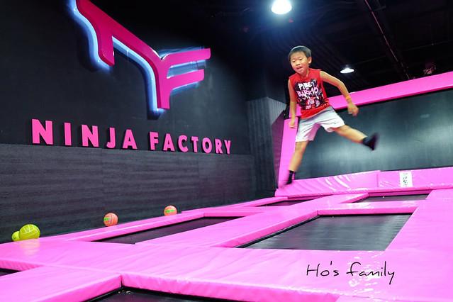 [台中亲子游]FUN电趣!弹跳床、极限运动挑战~Ninja Factory忍者工厂