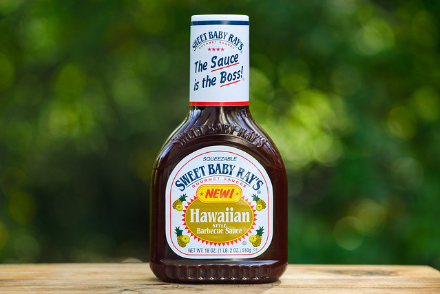 Sweet Baby Ray's Hawaiian Style Barbecue Sauce