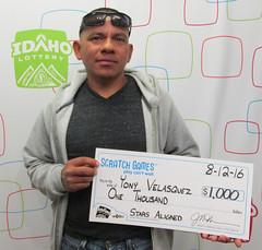 Yony Velasquez - $1,000 Stars Aligned