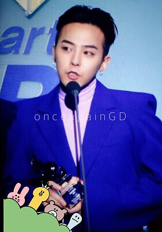 Big Bang - The 5th Gaon Char K-Pop Awards - 17feb2016 - Once Again GD - 05