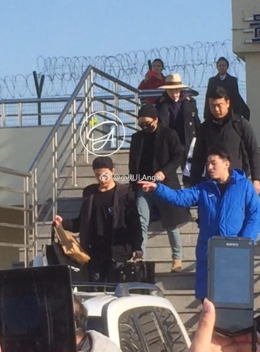 Big Bang - Harbin Airport - 21mar2015 - 小鬼儿Angel - 07