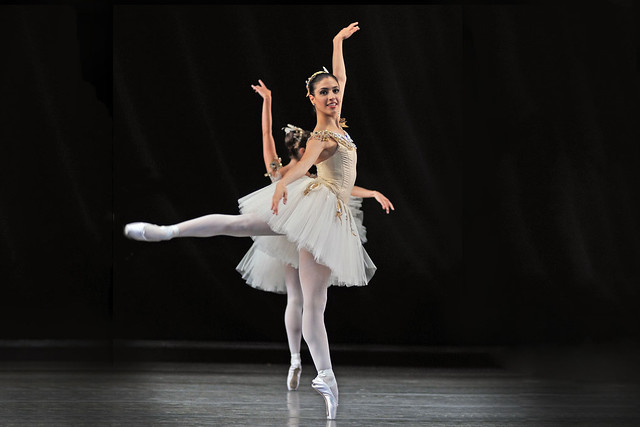 Celisa Diuana in George Balanchine's Jewels © ROH 2009. Photo by Dave Morgan