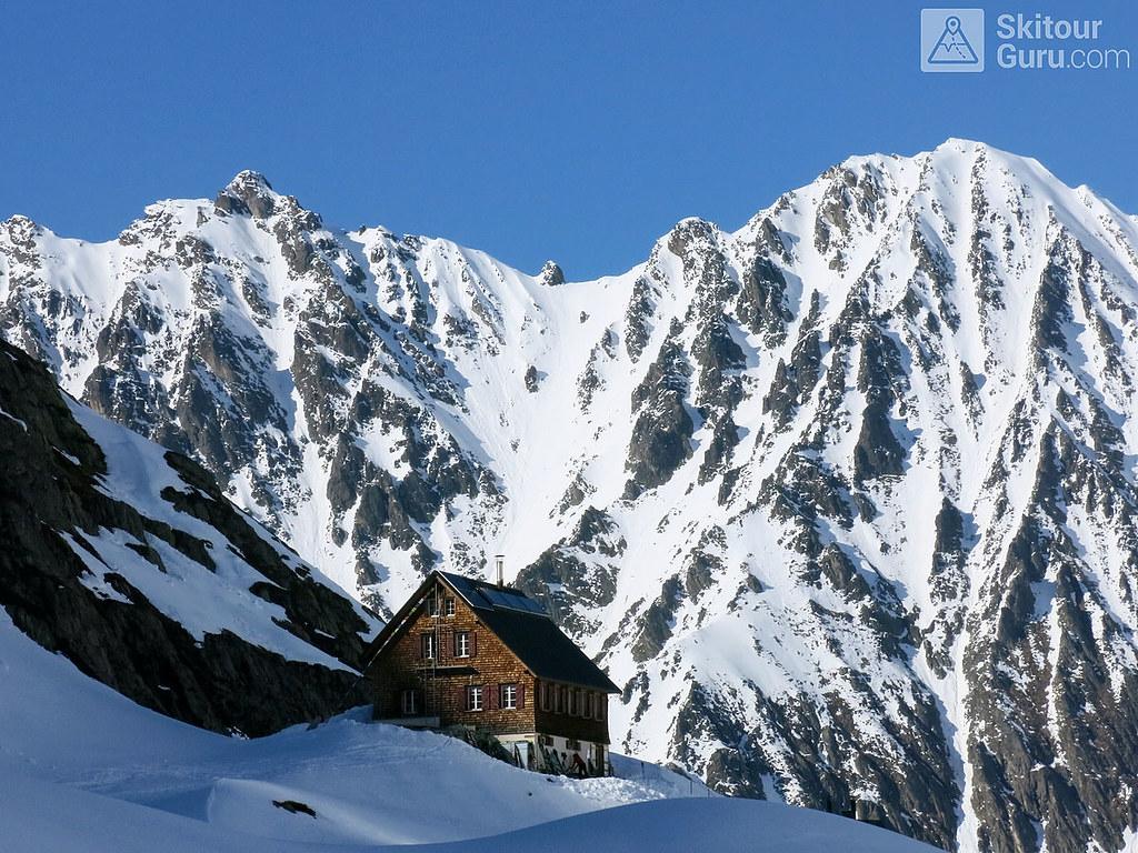 Gaulihütte Berner Alpen / Alpes bernoises Švýcarsko foto 02