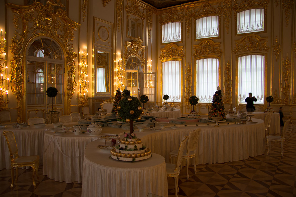 Small dining room before ballroom