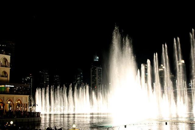 Fuentes del Burj Khalifa