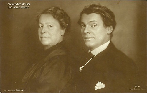 Alexander Moissi and his mother