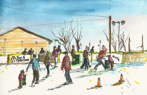 Ice rink, Westerly, RI