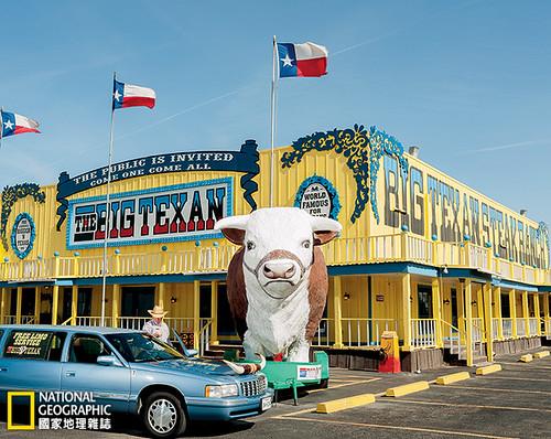 阿馬立羅郊外的泰森肉品加工廠。攝影:Brian Finke;圖片提供:《國家地理》雜誌中文版2014年11月號