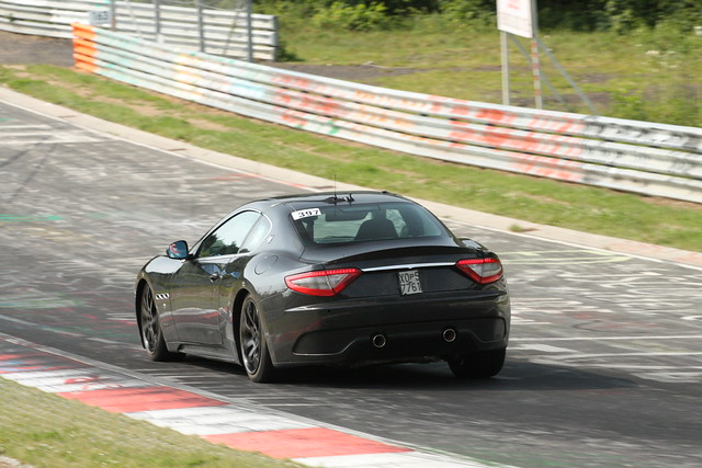 Maserati GranTurismo MC test mule 3