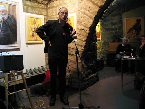 "Shore Poets vs Be The First To Like This ""Quiet Slam"" for Book Week Scotland: Stephen Barnaby"