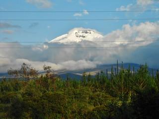Cotopaxi from Hotel Cuello de Luna