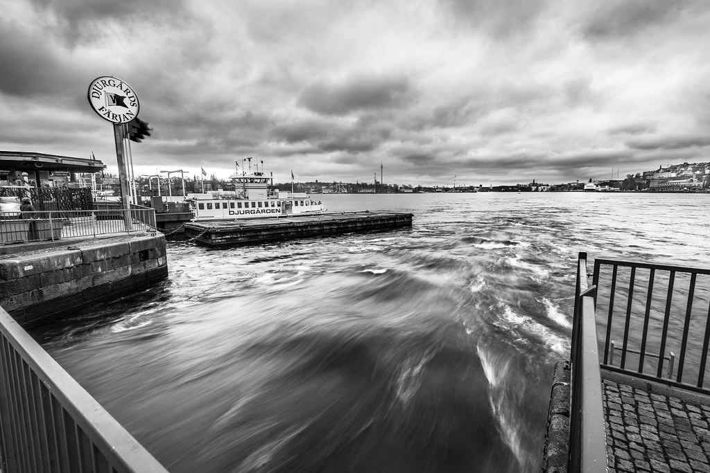 The boat to the Royal Gardens, Stockholm, Sweden picture