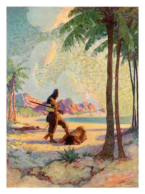020-Robinson Crusoe-1920- ilustrado por NC Wyeth