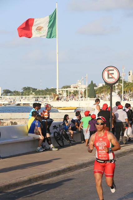 Ironman.  Cozumel, Mexico.