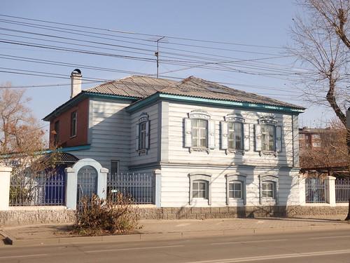 Une maison dans la ville
