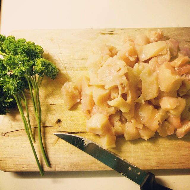 pollo con verduras #hoyhago
