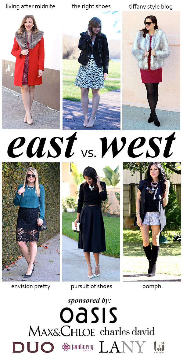 EastvsWest Holiday Hostess