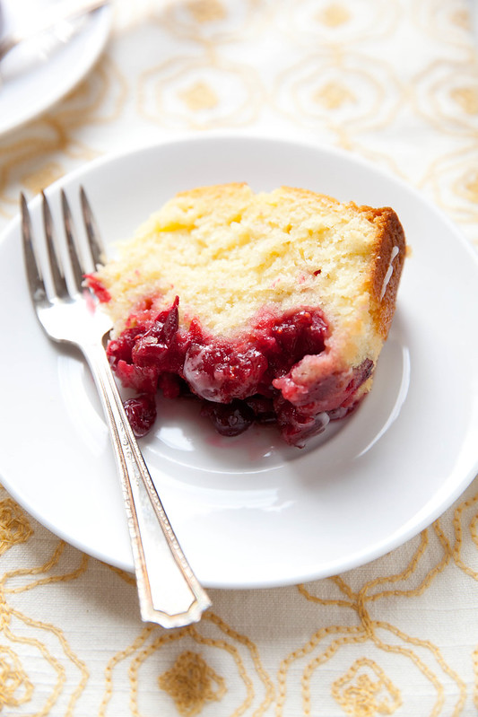 Glazed Cranberry Lemon Cake - Naturipe Farms Berries ...