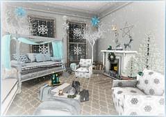 X-mas 2014   Icy Princess Bedroom