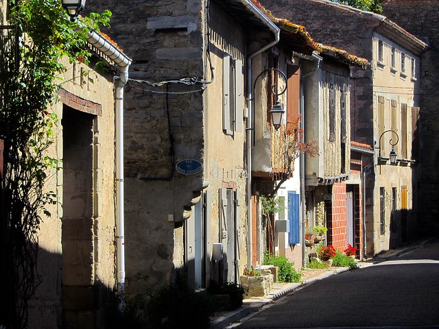 Village Scene in Languedoc