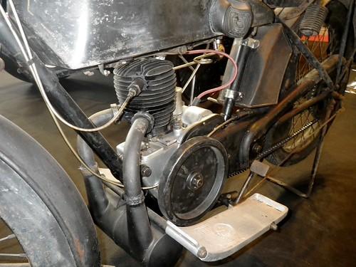 Velocette 250 G 2T de 1923/24 - Détail moteur