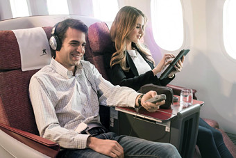 LAN  Premium Business Entretenimiento a bordo (LATAM Airlines)