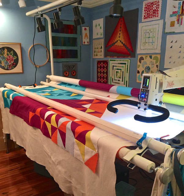 I've been quilting