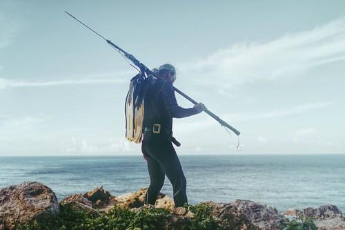 作者在蘭嶼的近照。(小路攝影)