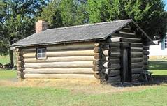 Log Cabin (1862) at Clover Hill