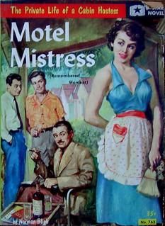 Motel Mistress - Star Novel - No 763 - Norman Bligh - 1956