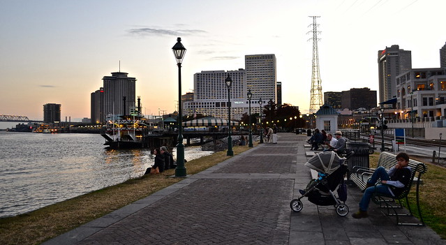 New Orleans - Riverwalk