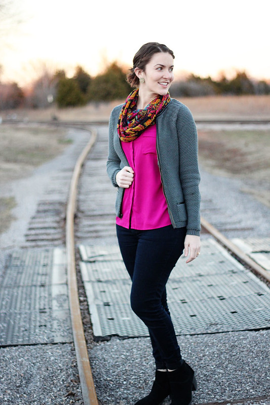 pink-tank-scarf-cardigan-2